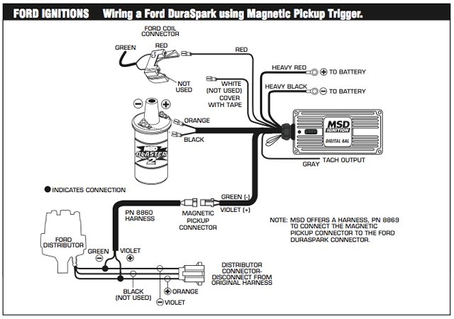 Msd 6al Wiring Diagram Hei Distributor Hei Msd Al Box Wiring Diagram on