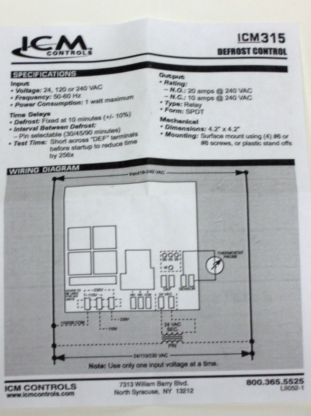 Multifan Wiring Diagram