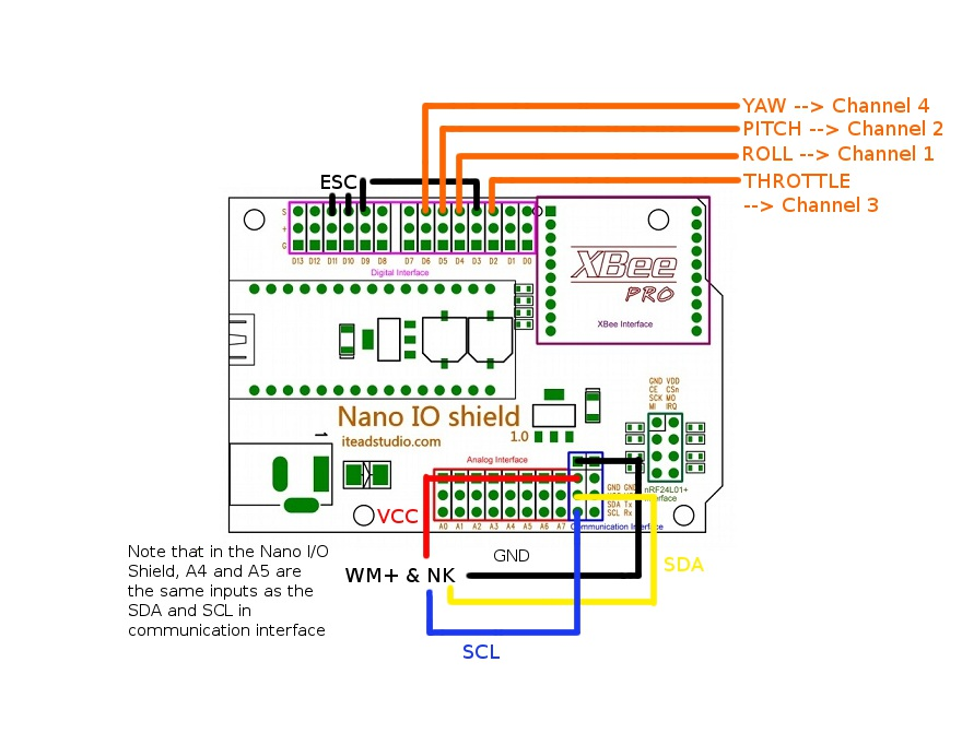 Multiwii Pro Wiring Diagram