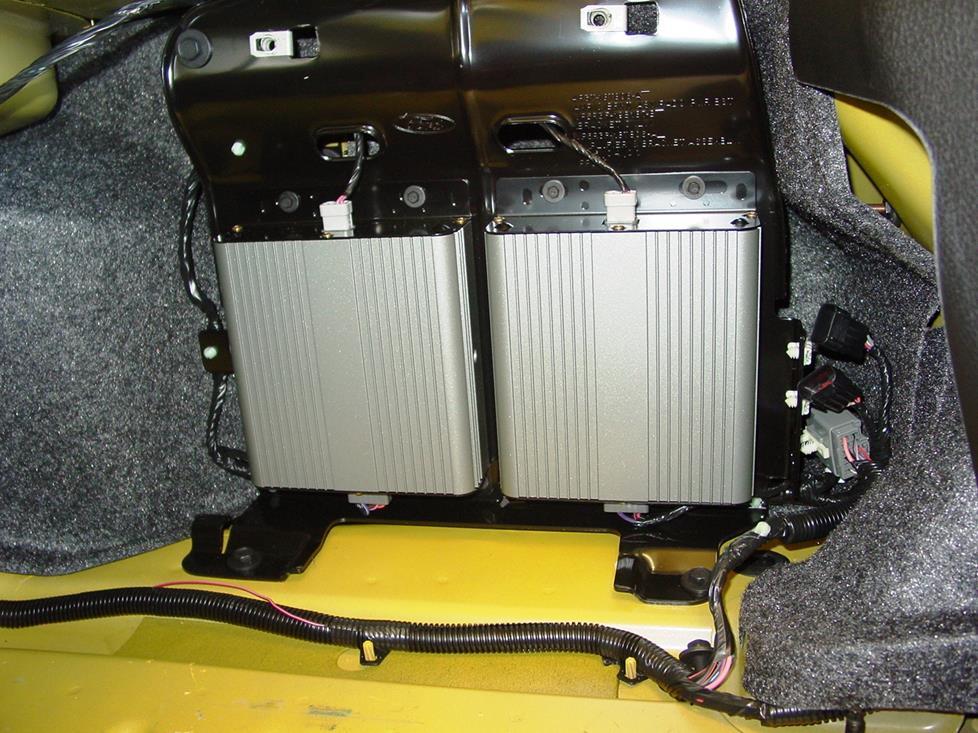 Mustang Shaker Subwoofer Amplifier Wiring Diagram