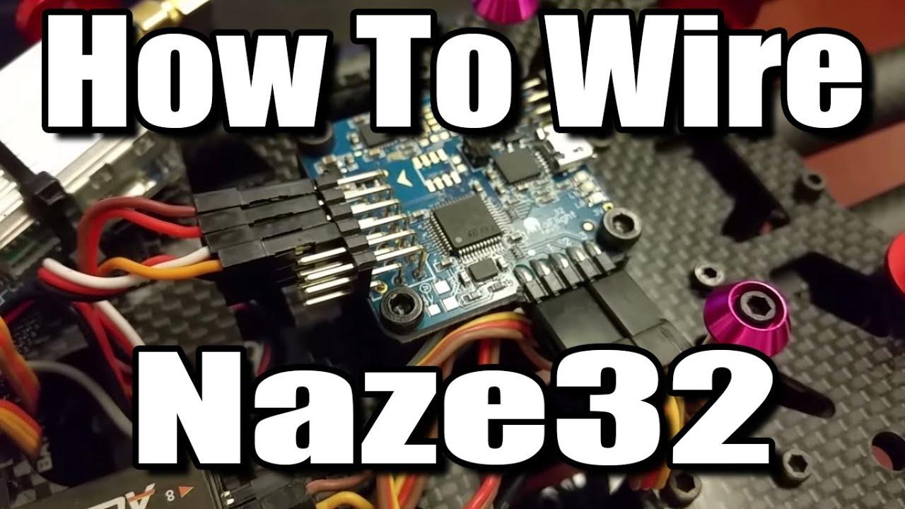 Naze32 Rev5 Wiring
