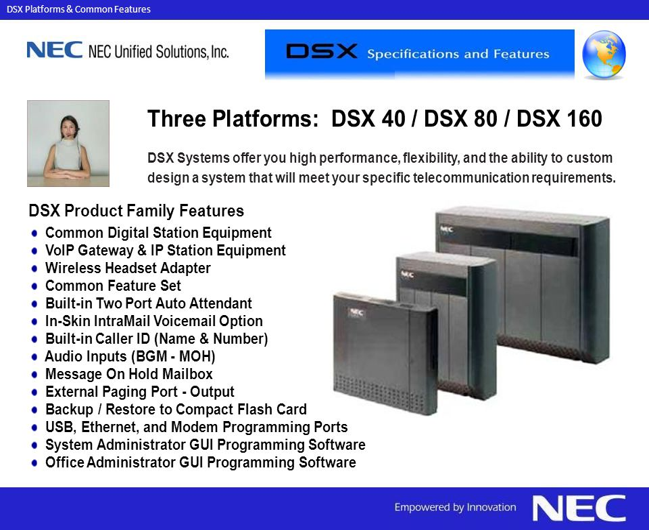 Nec Dsx 40 Wiring Diagram