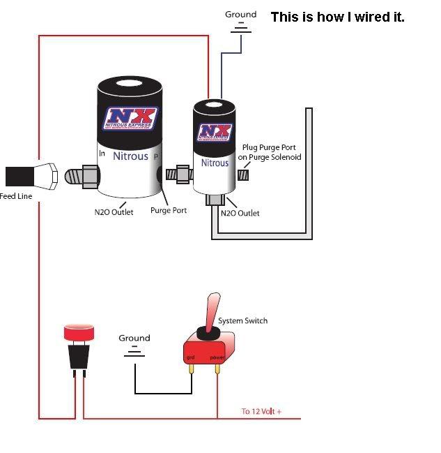 Nitrous Express Wiring Diagram