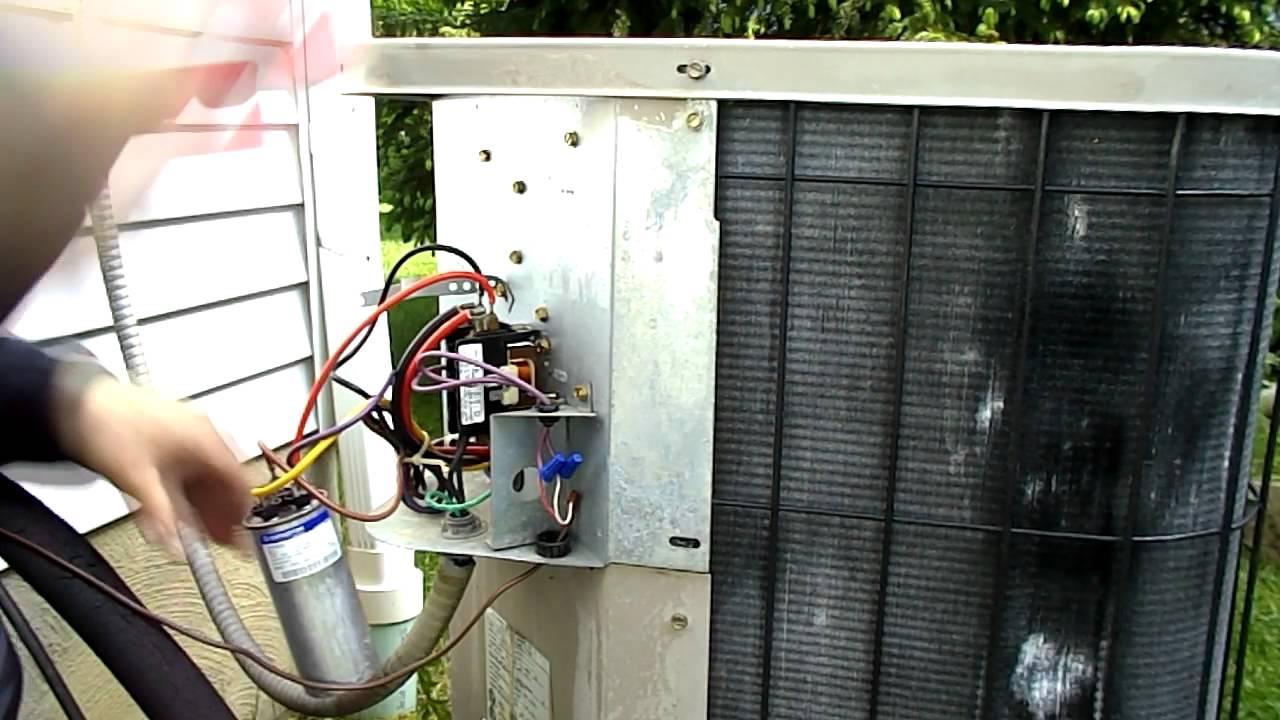 Nordyne Ac Capacitor Wiring Diagram