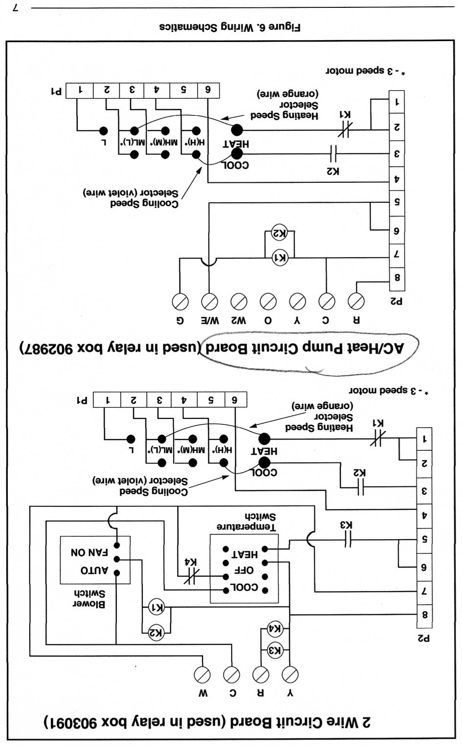 Nordyne Air Handler Wiring Diagram
