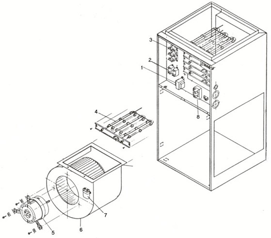 nortron electric furnace wiring diagram