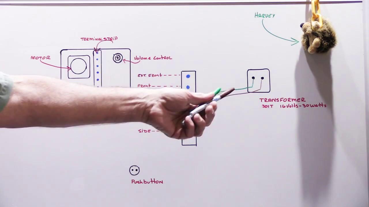 Nutone Door Chime Wiring Diagram