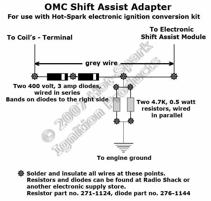 Omc Distributor Wiring Diagram
