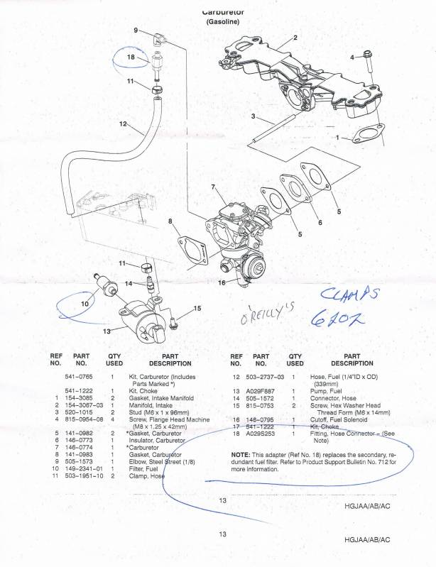 Wiring Diagram  33 Onan Generator Parts Diagram