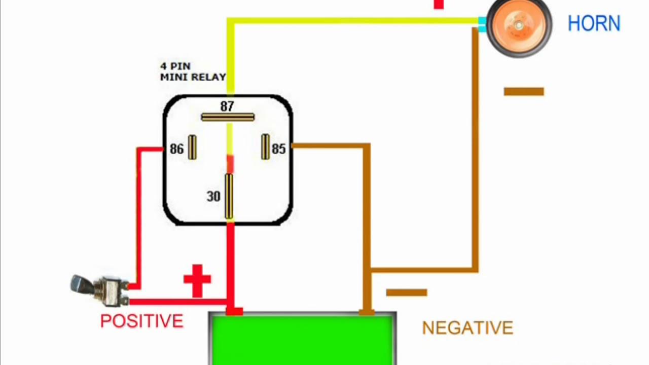 Schematic Wiring Diagram On Saturn Horn Relay Wiring Diagram