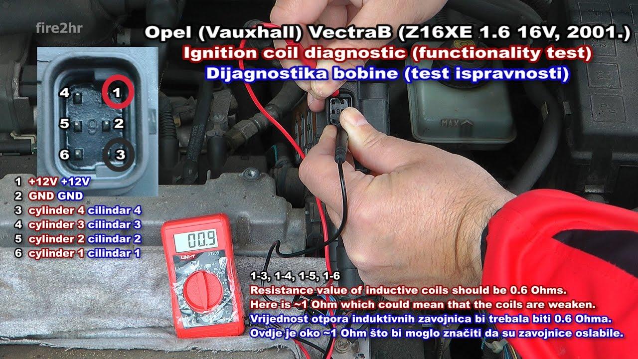 Opel Corsa 4 Pin Coil Wiring Diagram