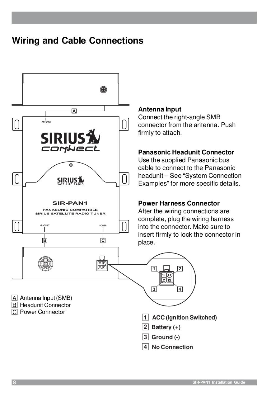 Panasonic Cq Vd7500u Wiring Diagram