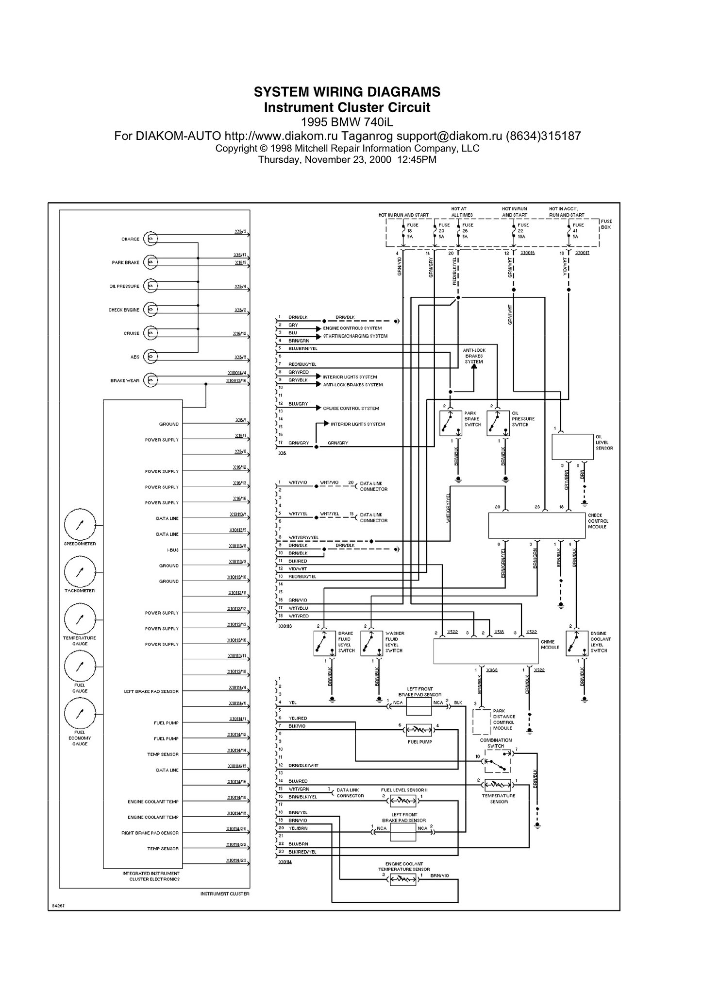 Paraplus Co E39 Wiring Diagram