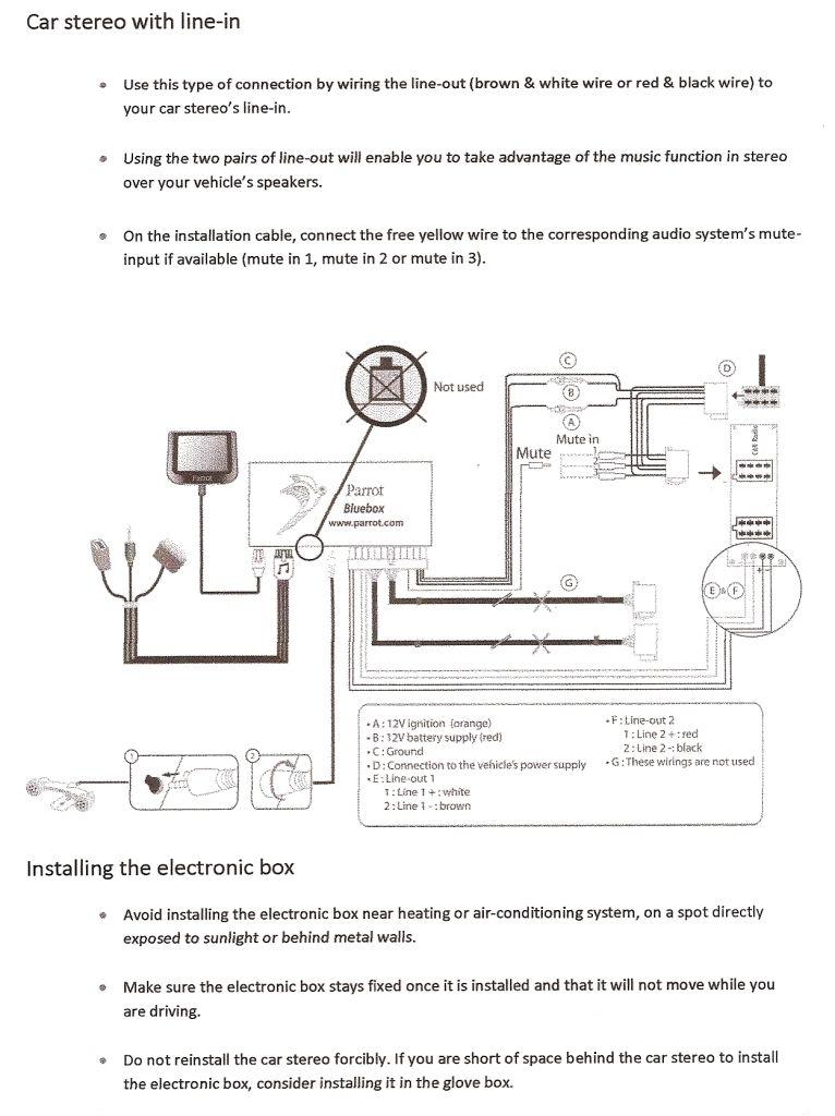 Parrot Ck3000 Wiring Diagram