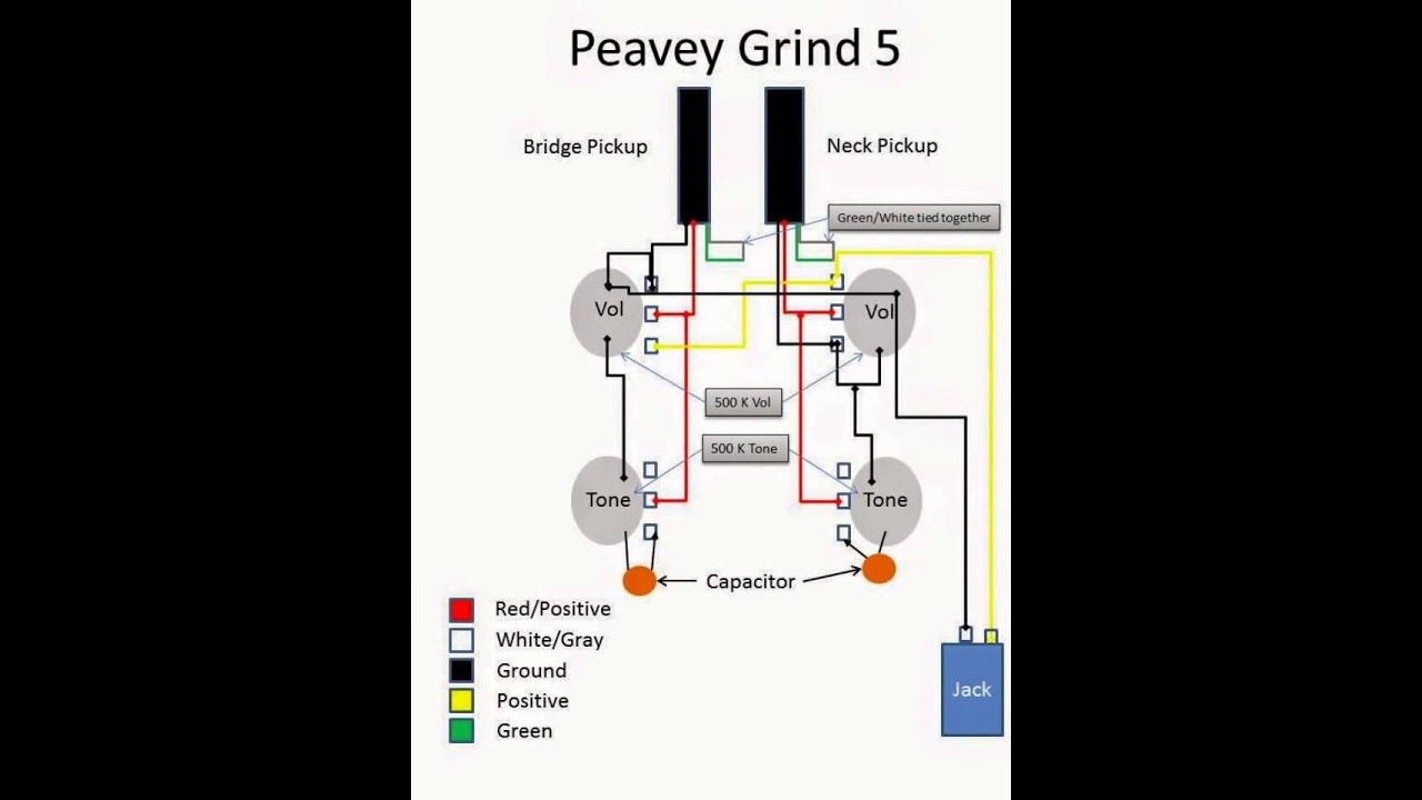 Peavey Bass Wiring Diagram