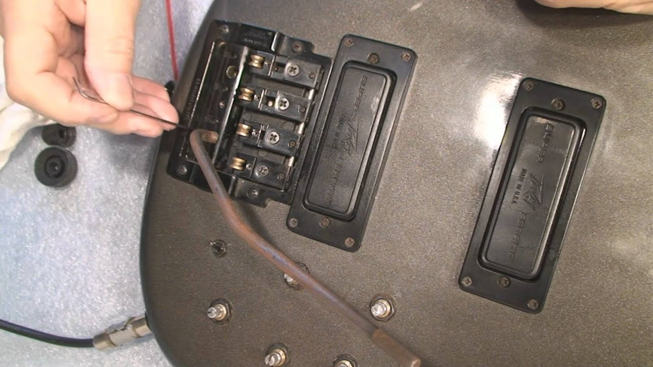 Peavey Dyna Bass Wiring Diagram