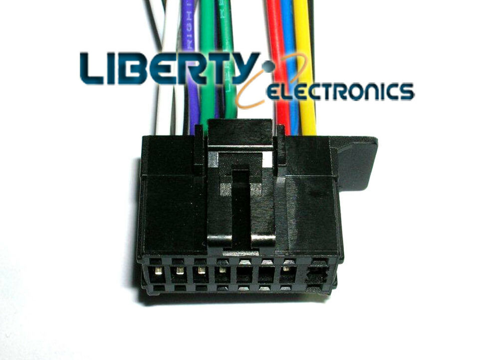 Pioneer Fh X720bt Wiring Harness