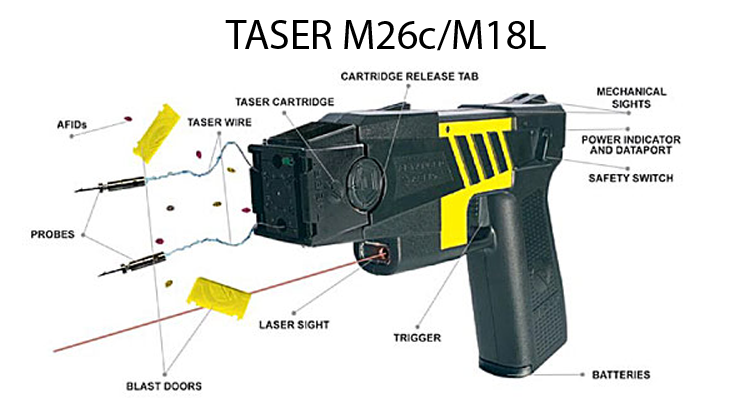 Police Flashlight Taser 1101 Wiring Diagram