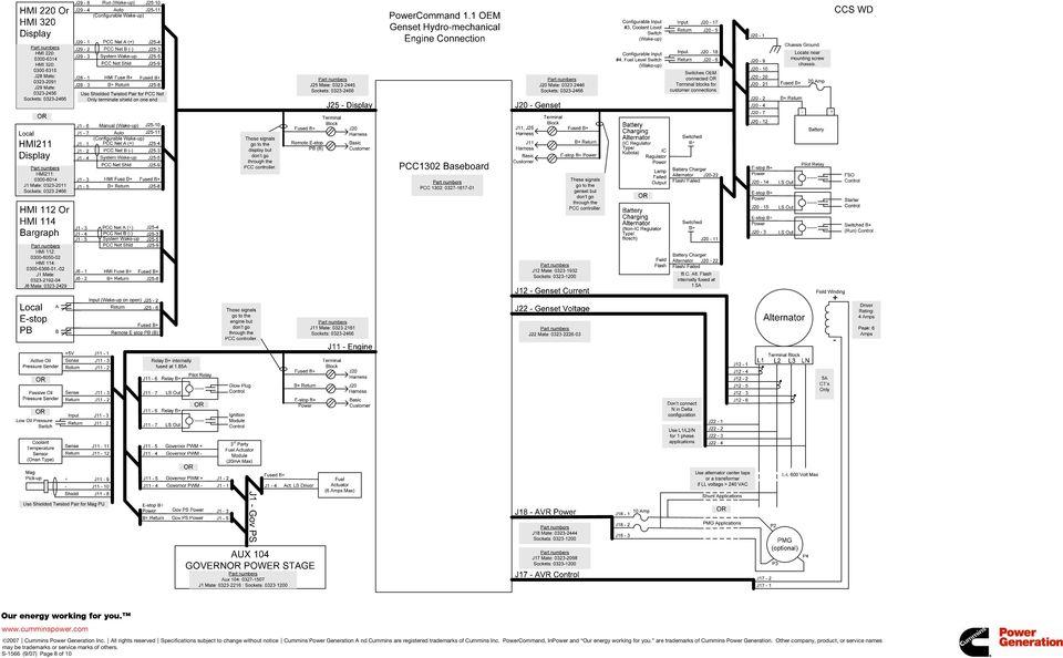 Power Command Hmi211 Wiring Diagram