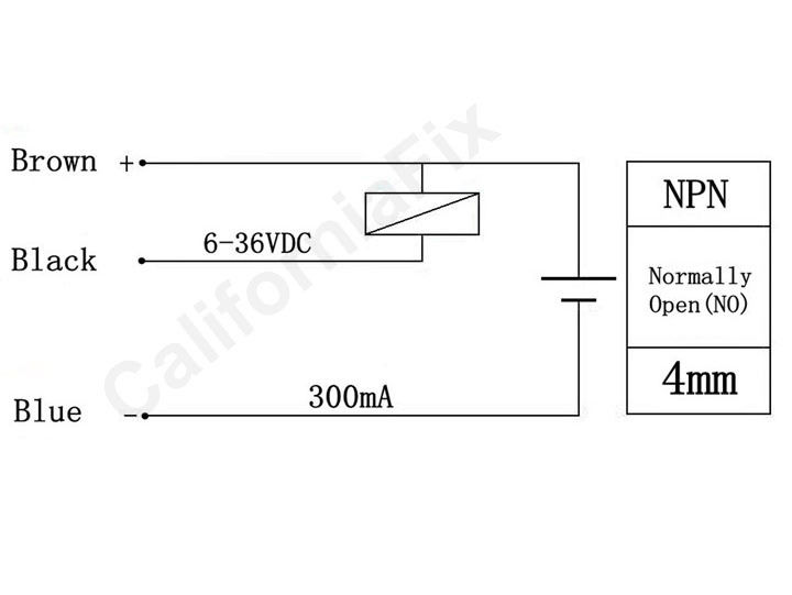 Npn Prox Switch Wiring Diagram