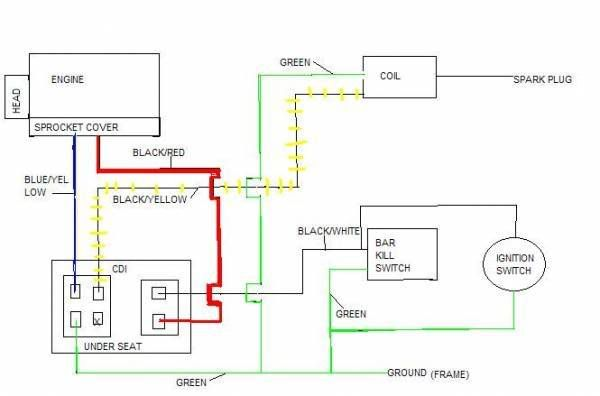 Qiye Mini Atv Wiring Diagram