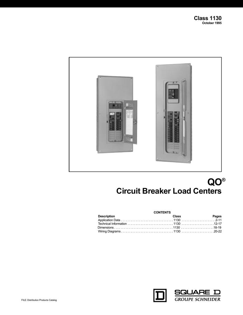 Qo Load Center Wiring Diagram