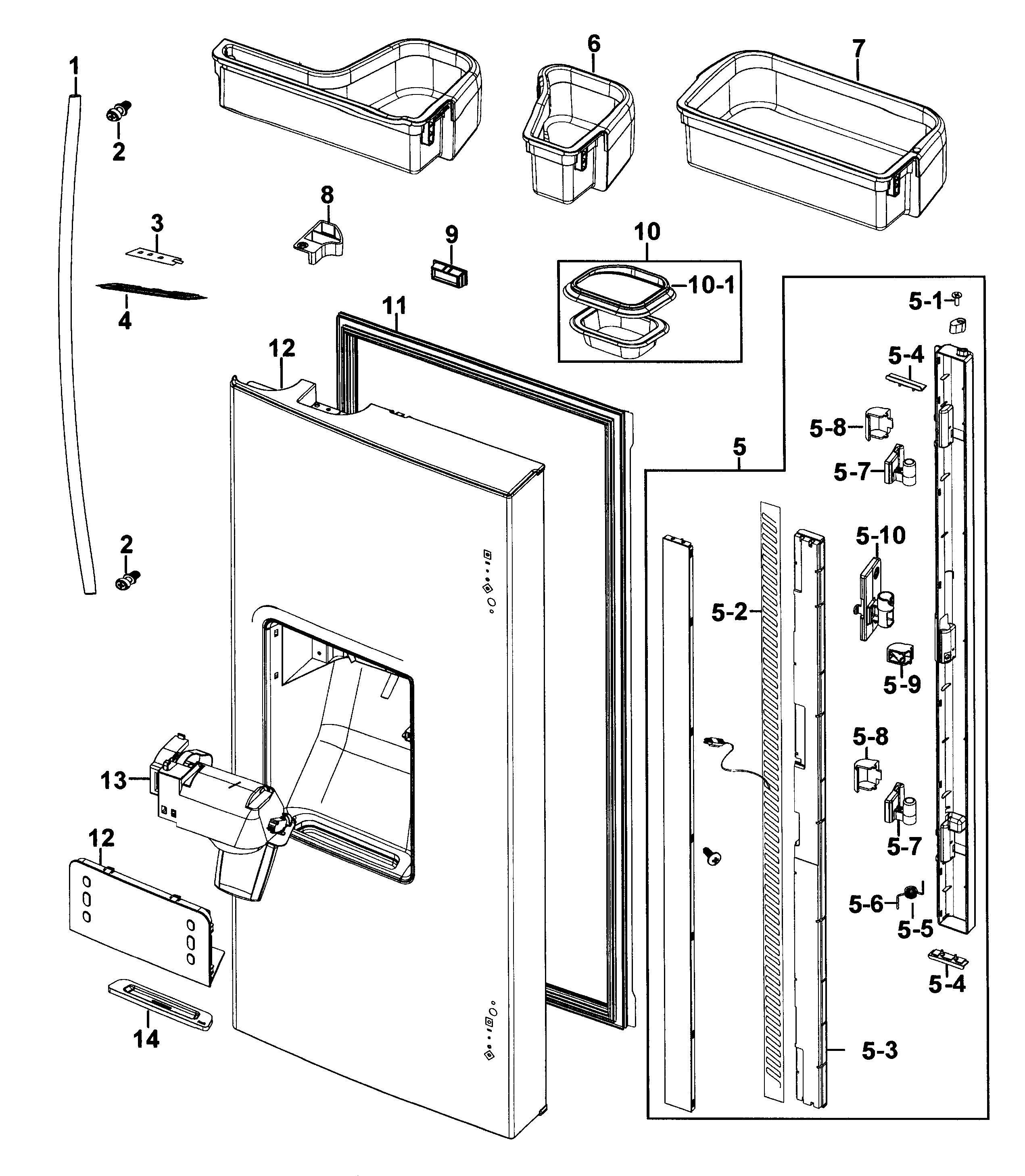 Refrigerator Model Et18dkxan10 Wiring Diagram