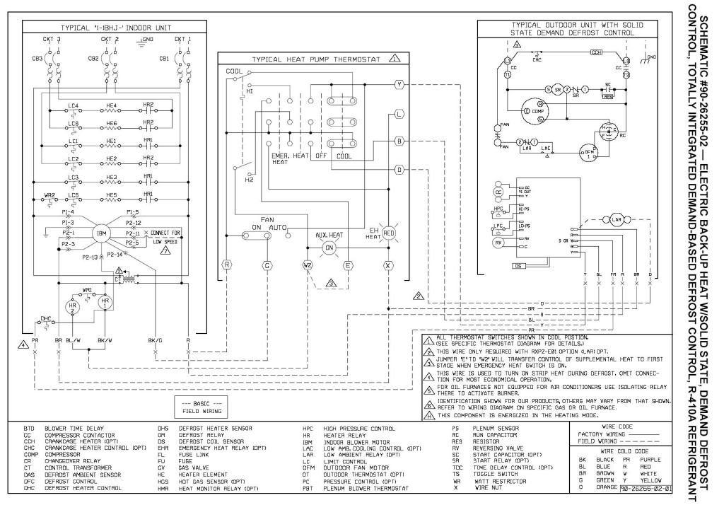 Rheem Rbha Wiring Diagram