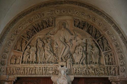 Romanesque Church Portal Diagram