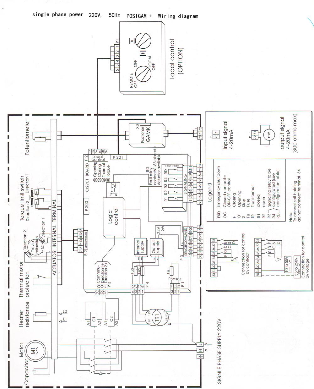 Rotork Iqt Wiring Diagram