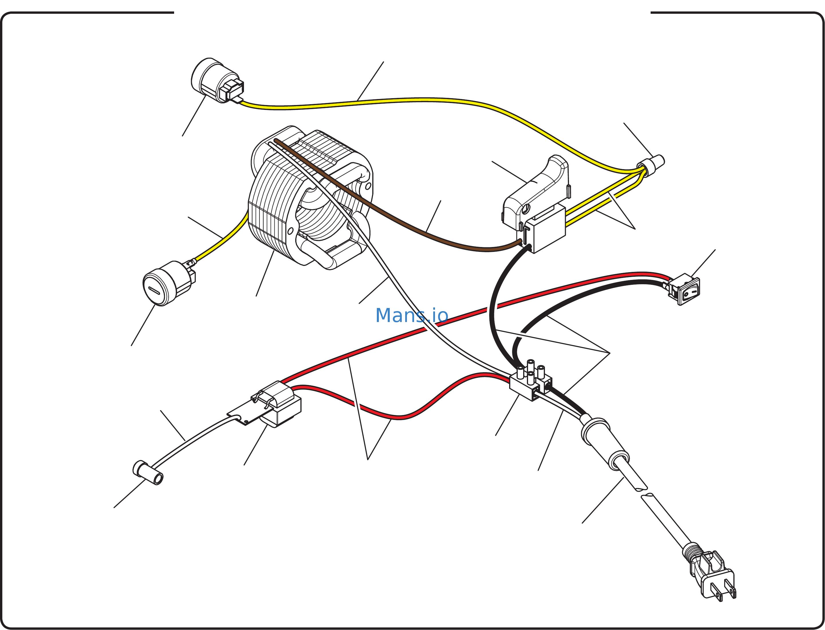 Ryobi Table Saw Switch Wiring Diagram