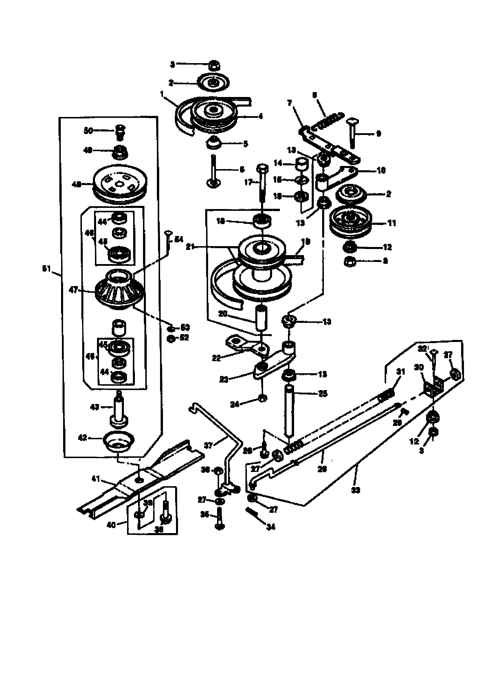 Scotts S1742 Belt Diagram