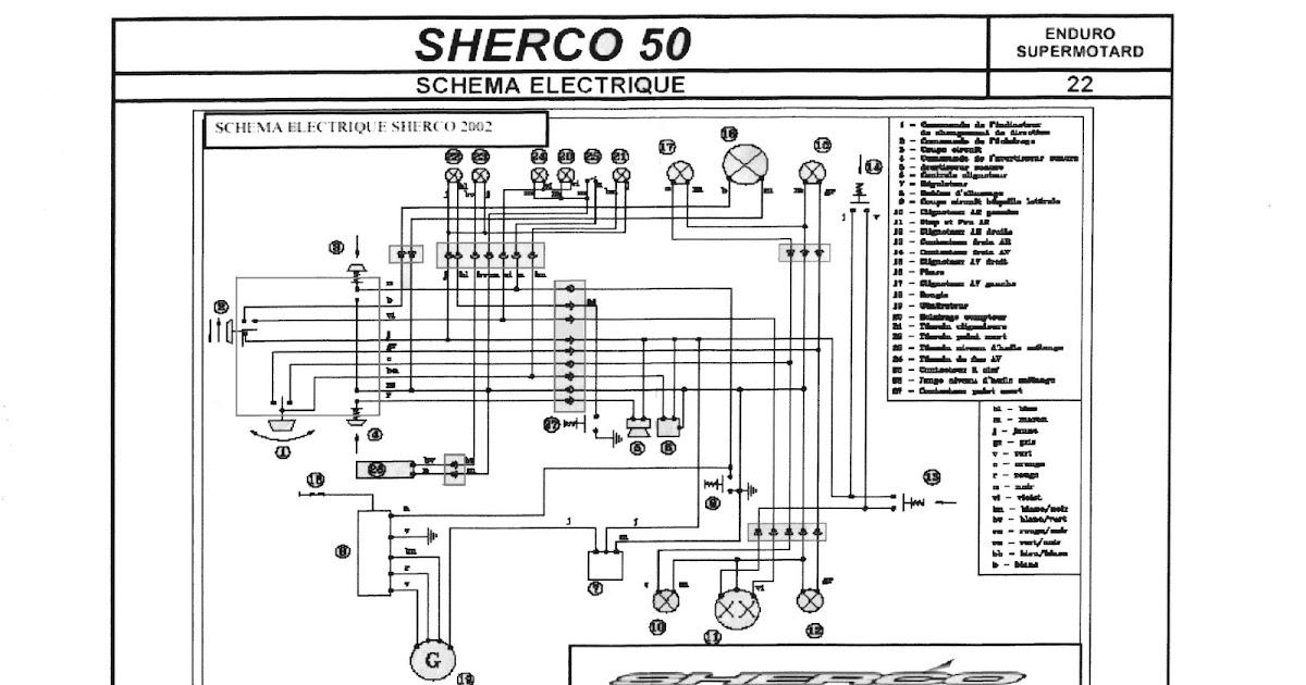 Sherco Wiring Diagram