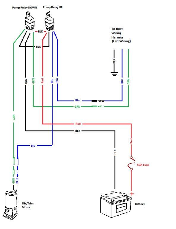 Omc Trim Gauge Wiring Diagram