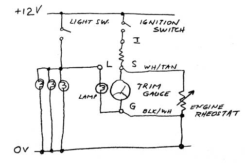 Sierra Trim Gauge Evinrude Wiring Diagram