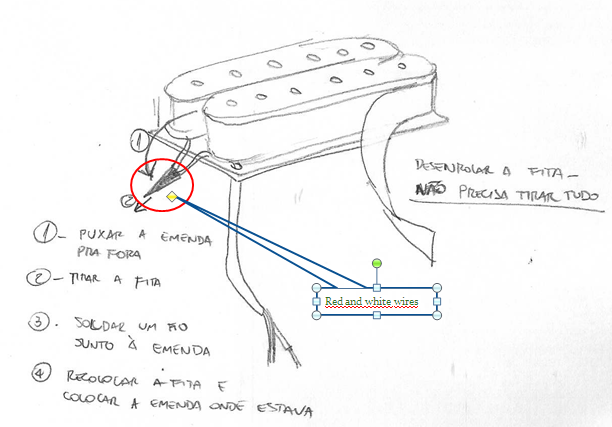 Single Conductor Humbucker Wiring
