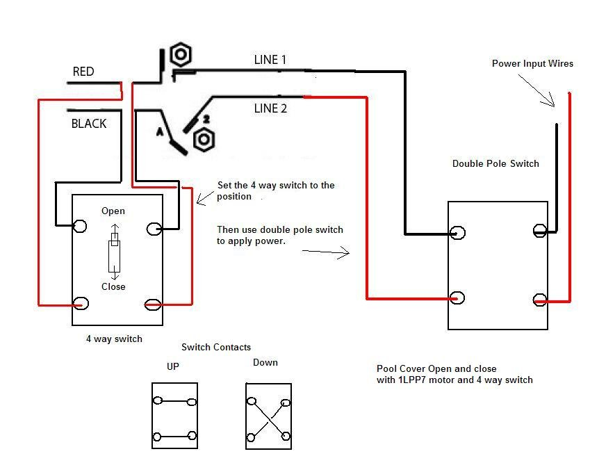 Reversing Switch Wiring Diagram from wiringall.com