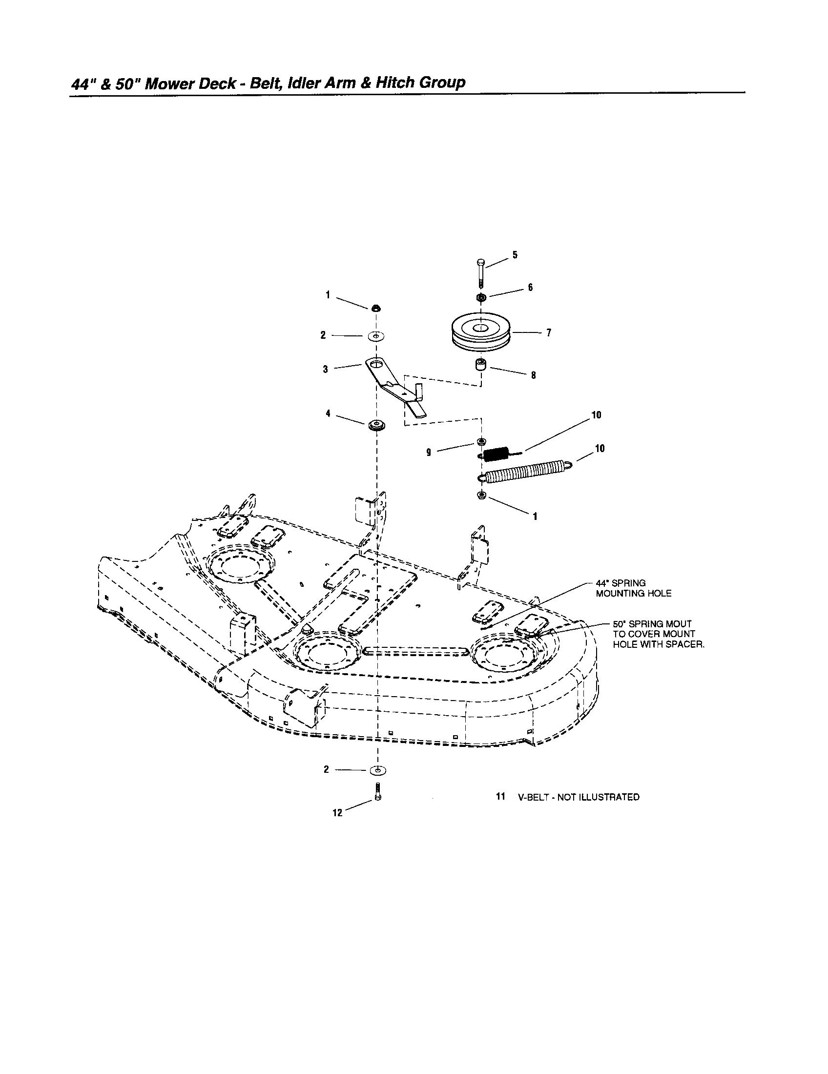 S150 Snapper Belt Diagram