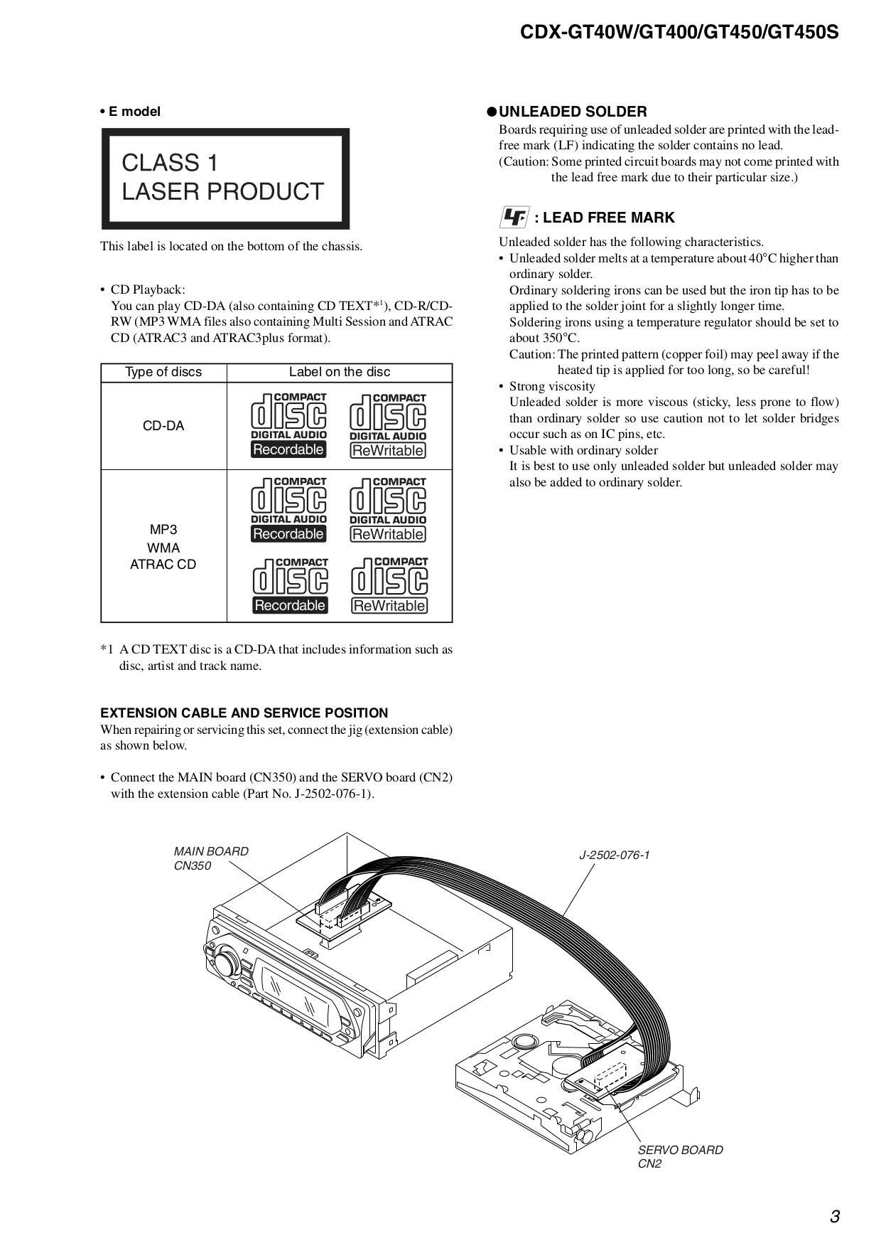 Sony Xplod Cdx