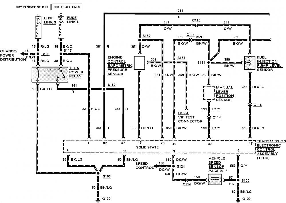 Speed Sensor Wiring Diagram For A 2001 Ford F350 With A 7 3