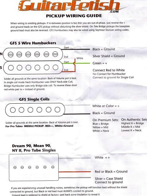 Squier Bronco Bass Pickup Wiring Diagram