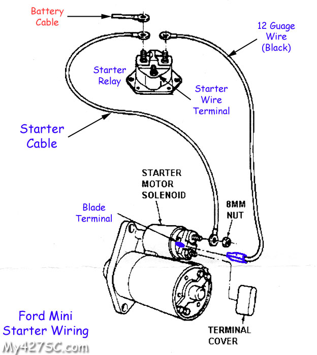 chevy starter solenoid wiring  center wiring diagram note