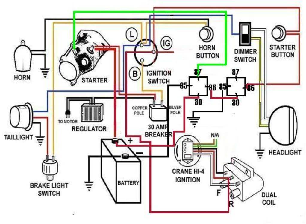 Starter Relay Wiring Diagram Harley 03 Road Glide