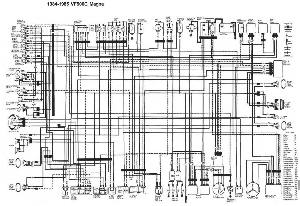 Stripped Down Cbr600f4 Wiring Diagram