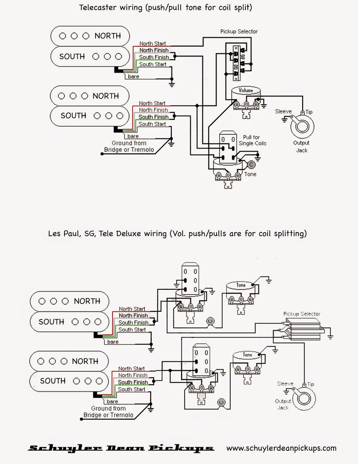Sustainer Wiring Diagram