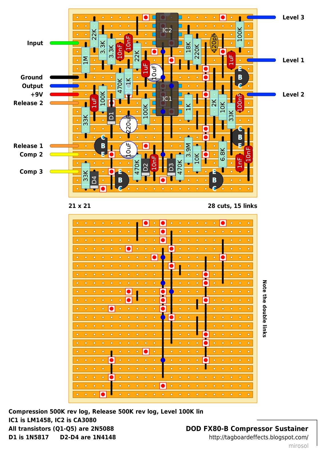 Sustainer       Wiring       Diagram
