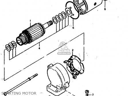 Suzuki Gs400 Wiring Diagram