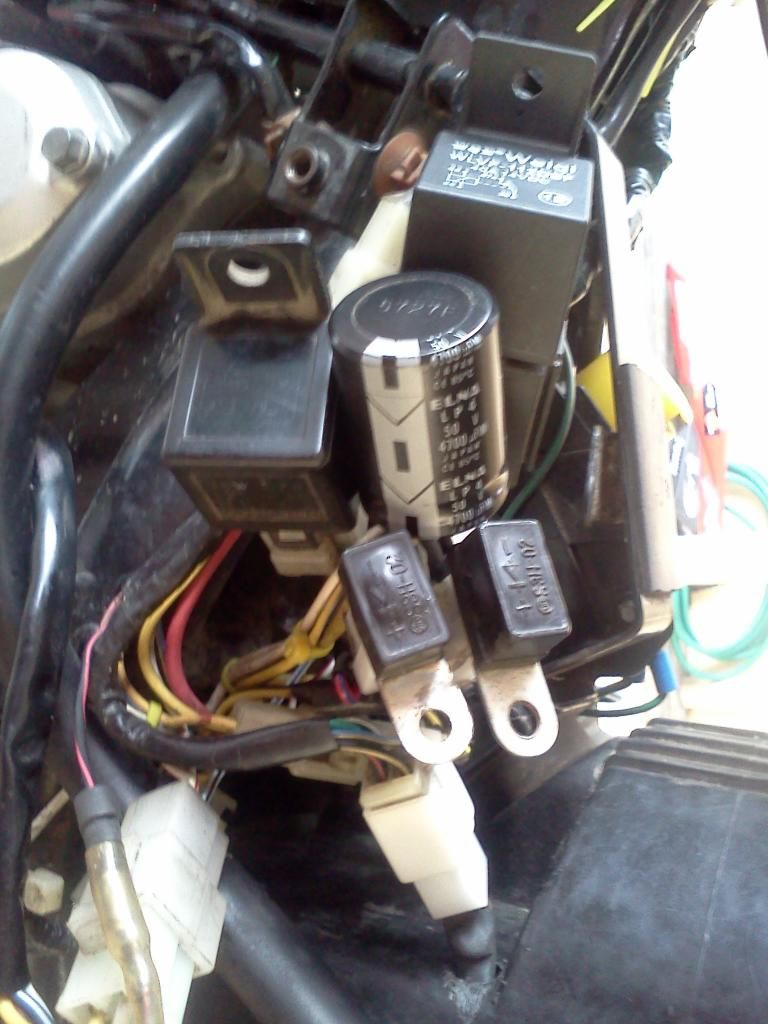 Suzuki Raider J 110 Wiring Diagram