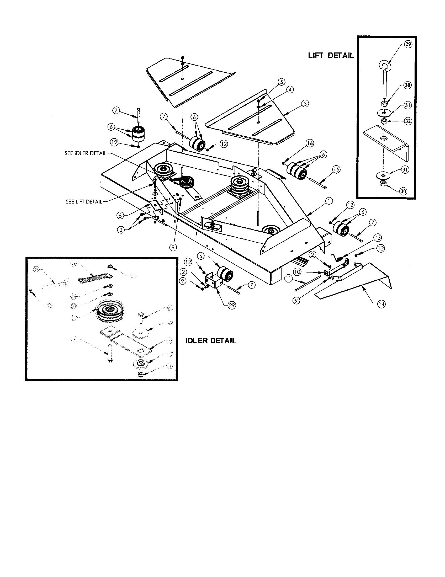 Swisher Z Max 60 Belt Diagram
