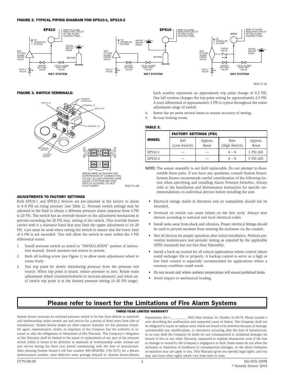 System Sensor D4100 Wiring Diagram